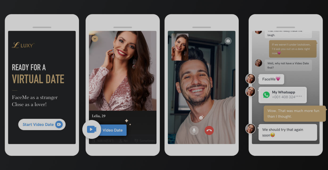 Dating App Luxy Video Chat Preview